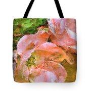 Iphone Pink Rose Digital Paint Tote Bag