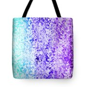 Iphone Purple And Blue Abstract Tote Bag