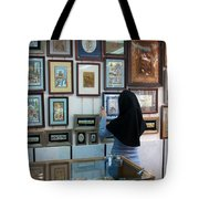Iran Isfahan Art Shop Tote Bag