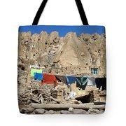 Iran Kandovan Stone Village Laundry Tote Bag