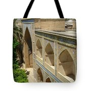 Iran Shiraz Mosque And School Tote Bag