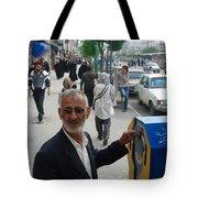 Iran Street Of Mashad Tote Bag