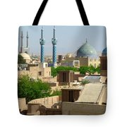 Iran Yazd From The Rooftops  Tote Bag