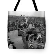 Iraq Al Manshiyya Evacuation 1948 Tote Bag
