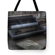 Iraq Typewriter  Tote Bag