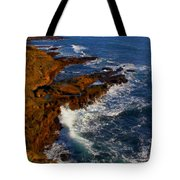 Ireland Rocky Coast Tote Bag