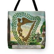 Irelands Historical Emblems Tote Bag