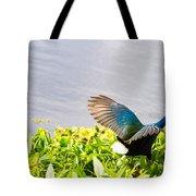 Iridescent Color Of Purple Gallinule Tote Bag