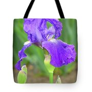 Iridescent Flower Tote Bag