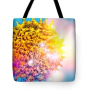 Iridescent Sun Tote Bag