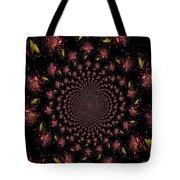 Iris And Foliage Tote Bag