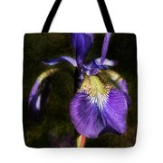Iris Baroque Tote Bag