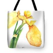 Iris Blooms  Tote Bag by Sherry Harradence