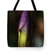 Iris Bud Tote Bag