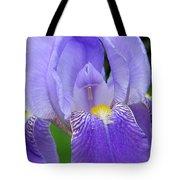 Iris Close Up 1 Tote Bag