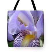 Iris Close Up 3 Tote Bag
