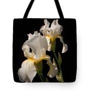 Iris Cream Tote Bag