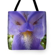 Iris Face Tote Bag
