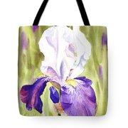 Iris Flower Purple Dance Tote Bag