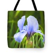 Pale Purple Iris - Impressions Of Spring Tote Bag