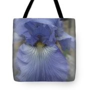 Iris Heart Tote Bag by Kay Novy