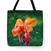 Iris In Autumn Tote Bag