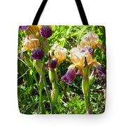 Iris In The Wild Tote Bag
