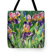 Iris Inspiration Tote Bag