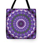 Iris Kaleidoscope  Tote Bag