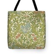 Iris Pattern Tote Bag
