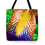 Iris Petal By Jan Marvin Tote Bag