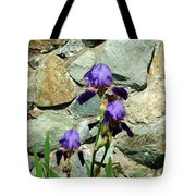 Iris Portrait Tote Bag