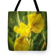 Iris Pseudacorus Yellow Flag Iris Tote Bag