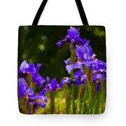 Iris Radiance Tote Bag