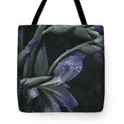 Iris Rain Tote Bag