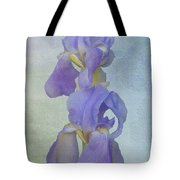 Iris Texture Tote Bag