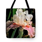 Iris White To Pink Tote Bag