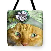 Irish Cat Tote Bag