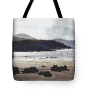 Irish Coast Pastel Chalk Tote Bag
