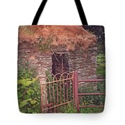 Irish Cottage Of Long Ago Tote Bag