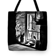Irish Cottage Window Tote Bag
