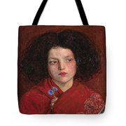 Irish Girl Tote Bag by Philip Ralley