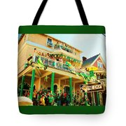One Day In The Irish Channel Tote Bag