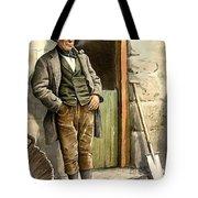 Irish Peasant Farmer Tote Bag