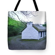 Irish Thatched Roof Cottage Tote Bag