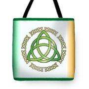 Irish Triquetra Tote Bag