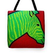 Irish Zebra Tote Bag