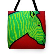 Irish Zebra Tote Bag