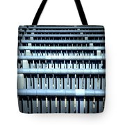 Iron Benches Tote Bag