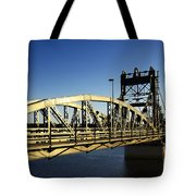 Iron Bridge Tote Bag